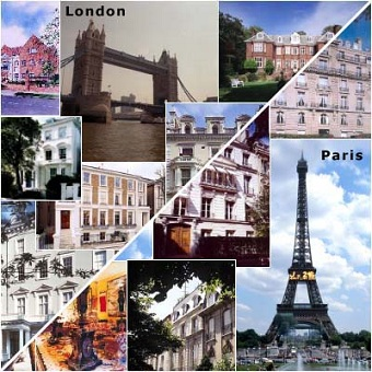 London with paris